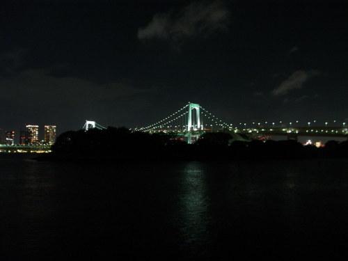東京の夜景を、、、